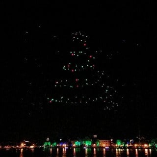 Disney Springs Starbright Holidays Drone Show