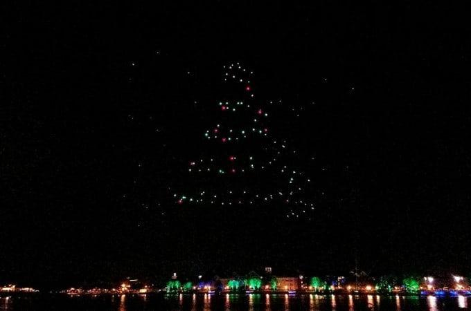 Disney Springs Starbright Holidays Drone Show