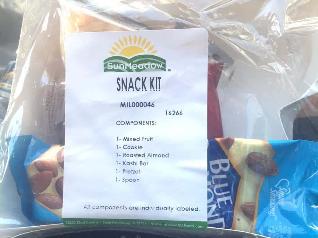 Army Ten-Miler Race Snack Kit