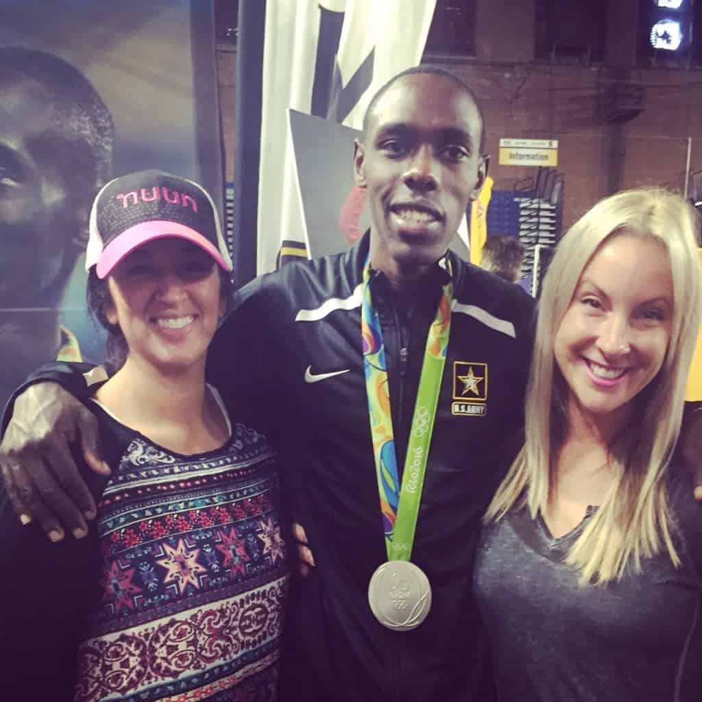 Army Ten-Miler Expo with Paul Chelimo
