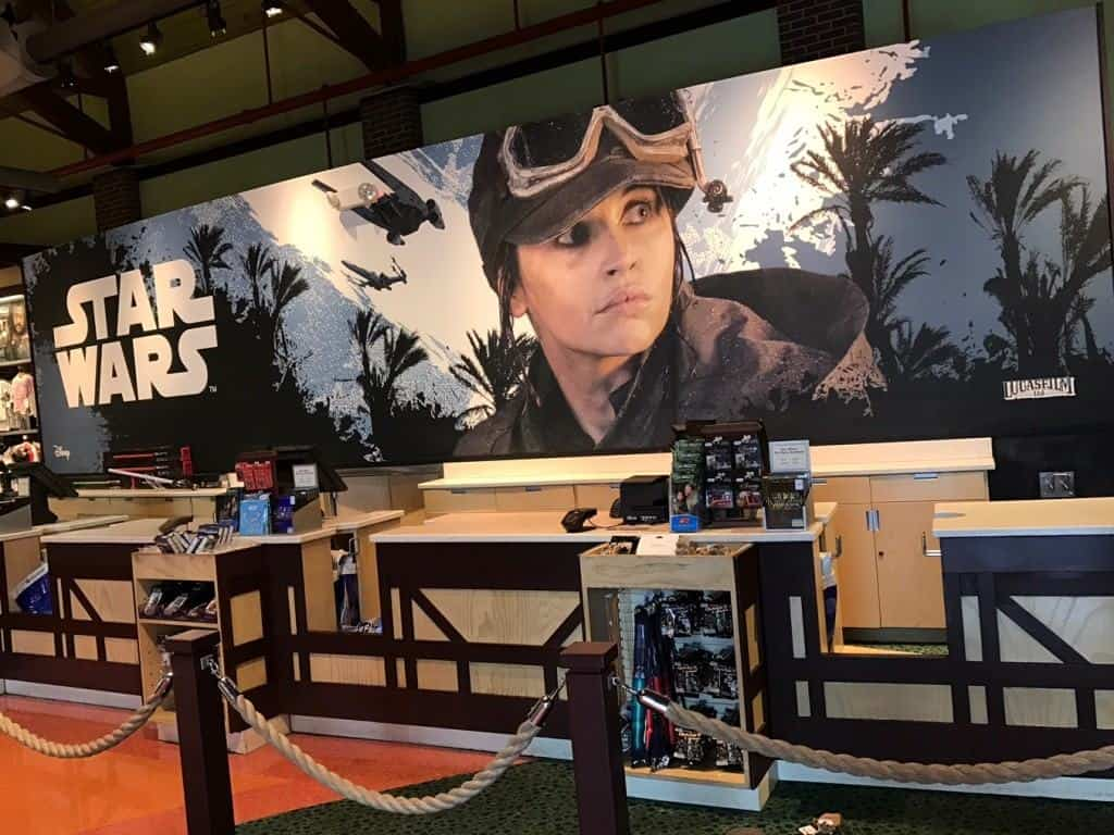 Rogue One: A Star Wars Story in Once Upon a Toy in Disney Springs