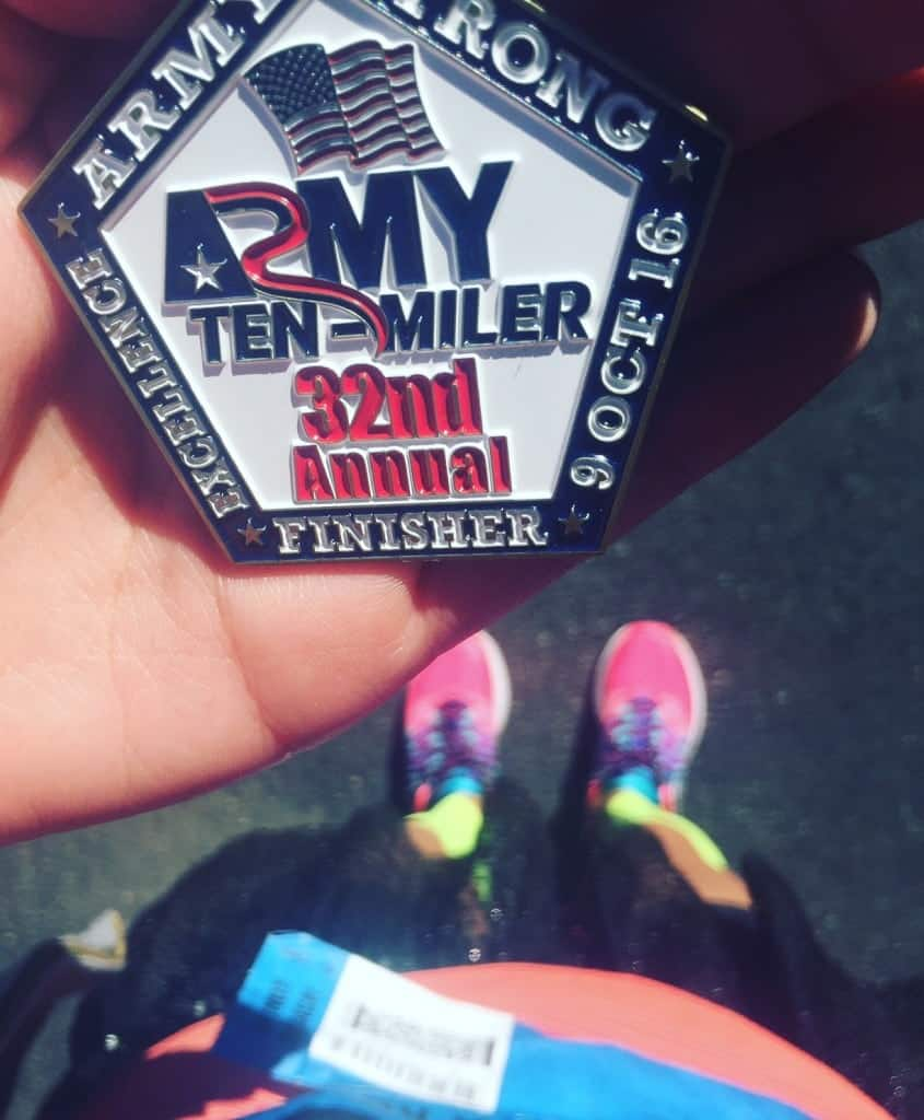 Army Ten-Miler Finisher Coin