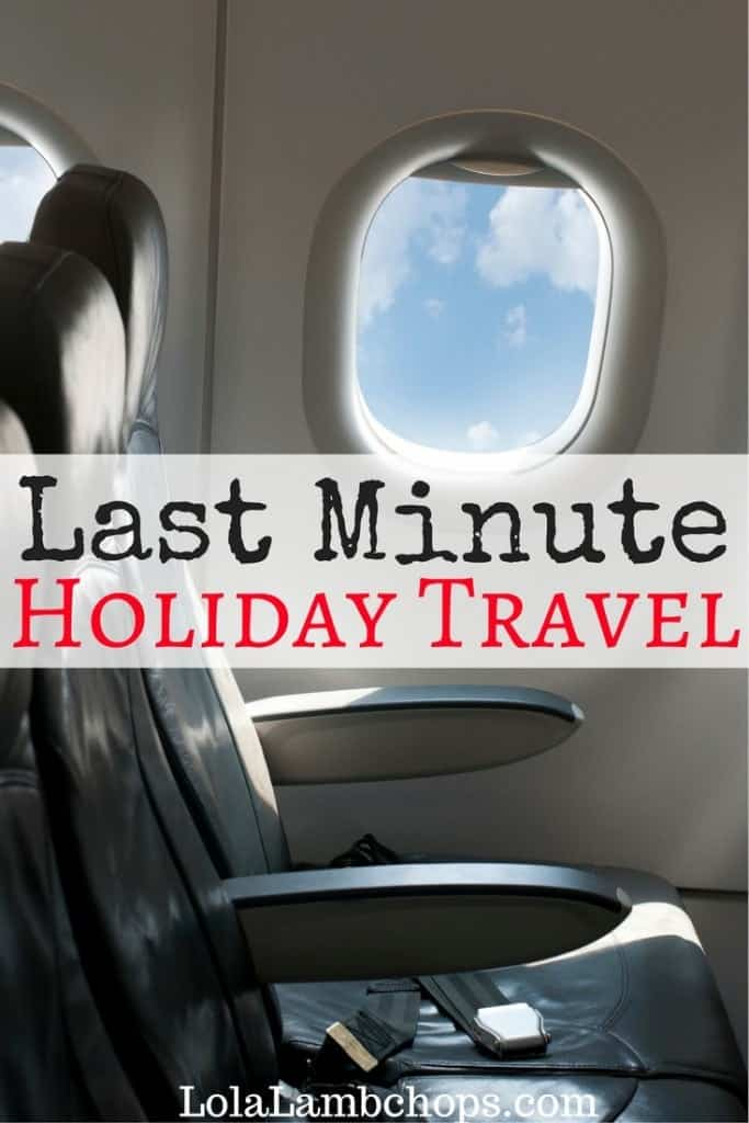 Last minute holiday travel doesn't have to be scary! Here are my travel tips and story of traveling with 5 kids from Texas to Virginia all in less than 24 hours! Sense of humor needed.