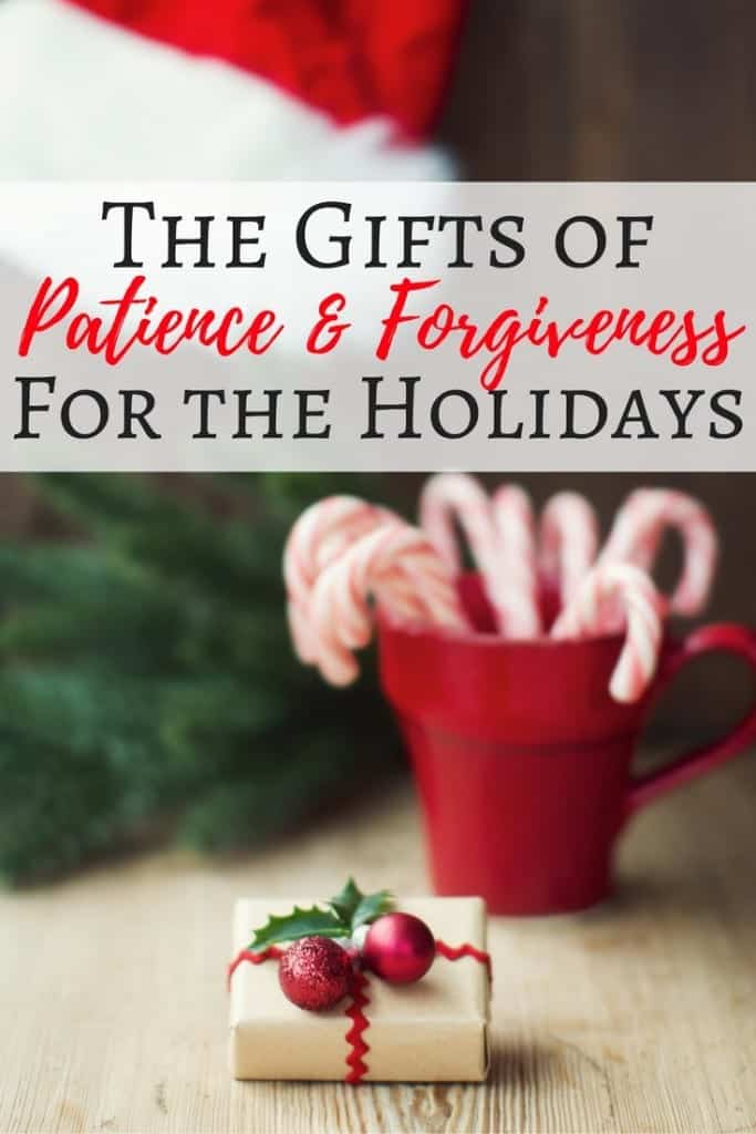 This holiday season, I'm asking for the gifts of patience and forgiveness. An experience helped me realize my children need me to be more patient, too. Maybe Santa can't bring those gifts, but it's what I want for Christmas.