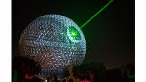 Spaceship Earth Transforms into the Death Star to Celebrate Rogue One: A Star Wars Story