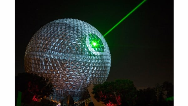 Disney transforms Spaceship Earth into the Death Star to celebrate Rogue One: A Star Wars Story