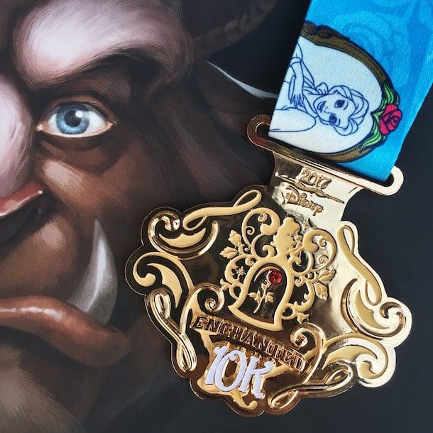 Disney Princess Enchanted 10K Medal