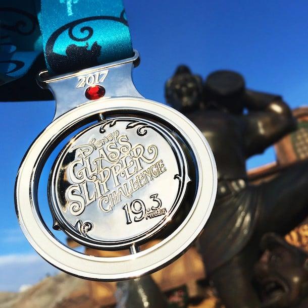 2017 Glass Slipper Challenge Medal