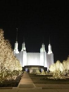Visit the Washington D.C. Temple Festival of Lights