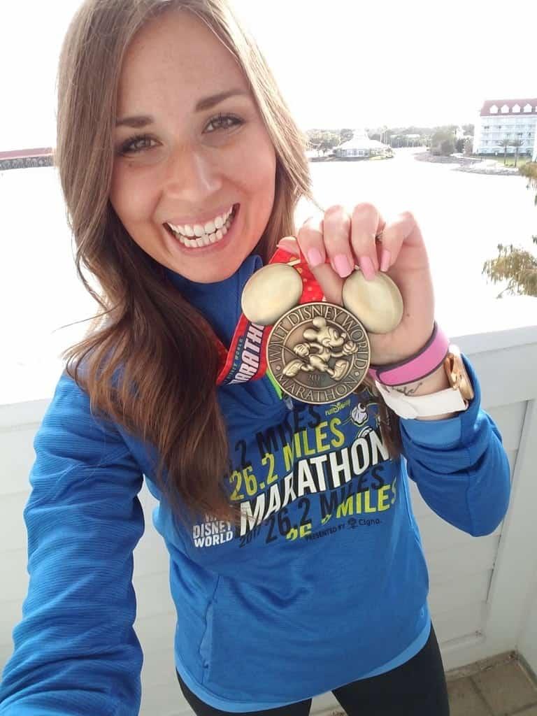 Walt Disney World Marathon Medal, Running with infertility
