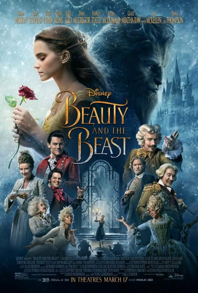 Disney Beauty and the Beast Movie Poster - Must-see Disney Movies in 2017