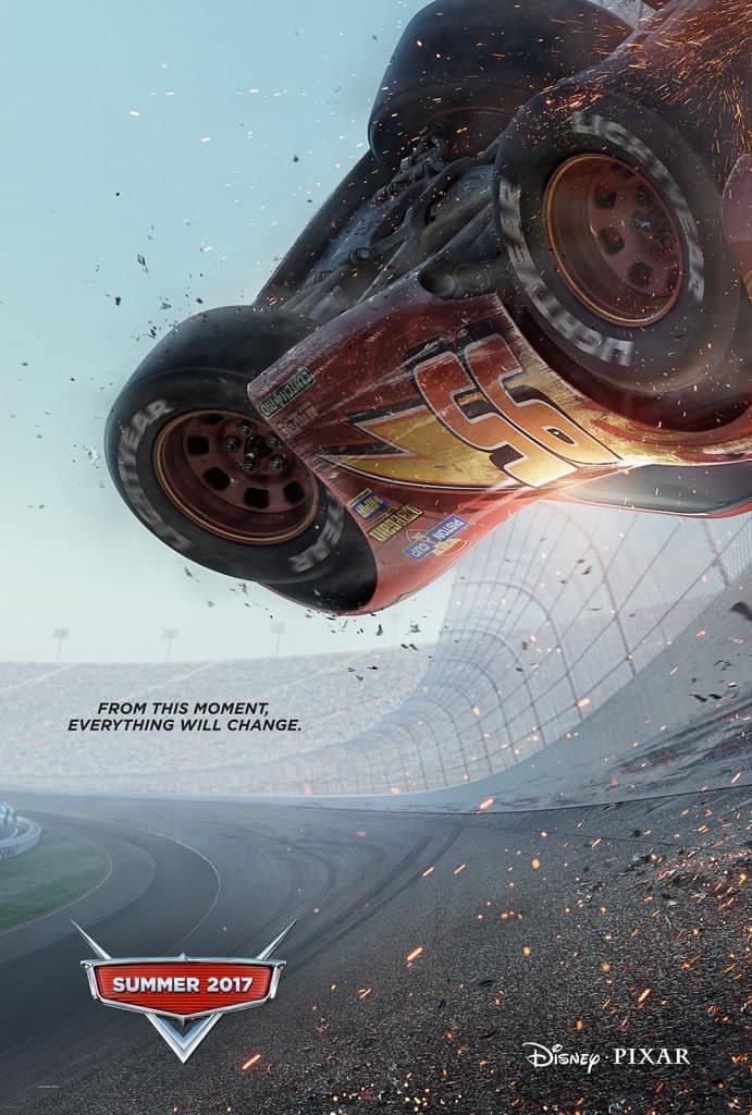 Cars 3 Movie Poster- a must-see Disney movie in 2017!