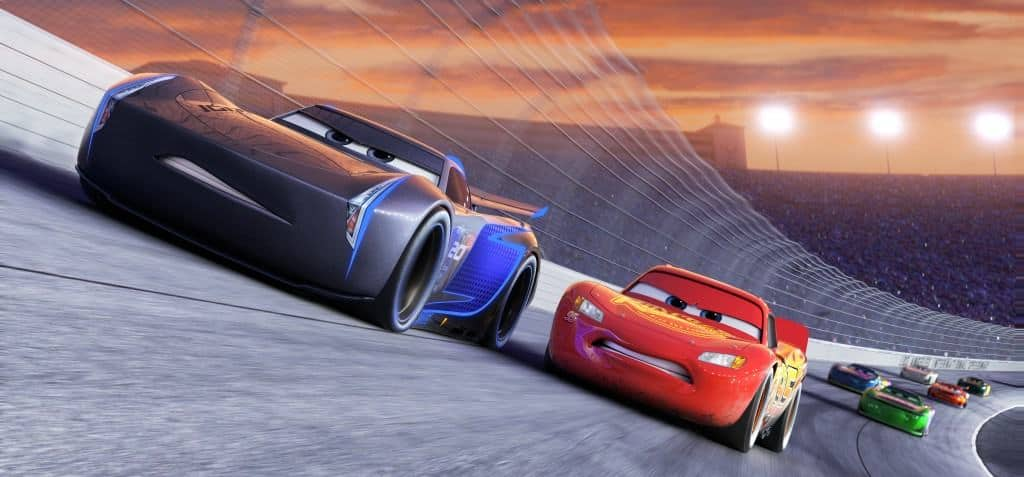 Cars 3 Lightning McQueen and Jackson Storm