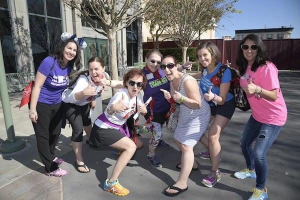 Team Mickey of the Great Cigna Race - Cigna's Blogger Meetup