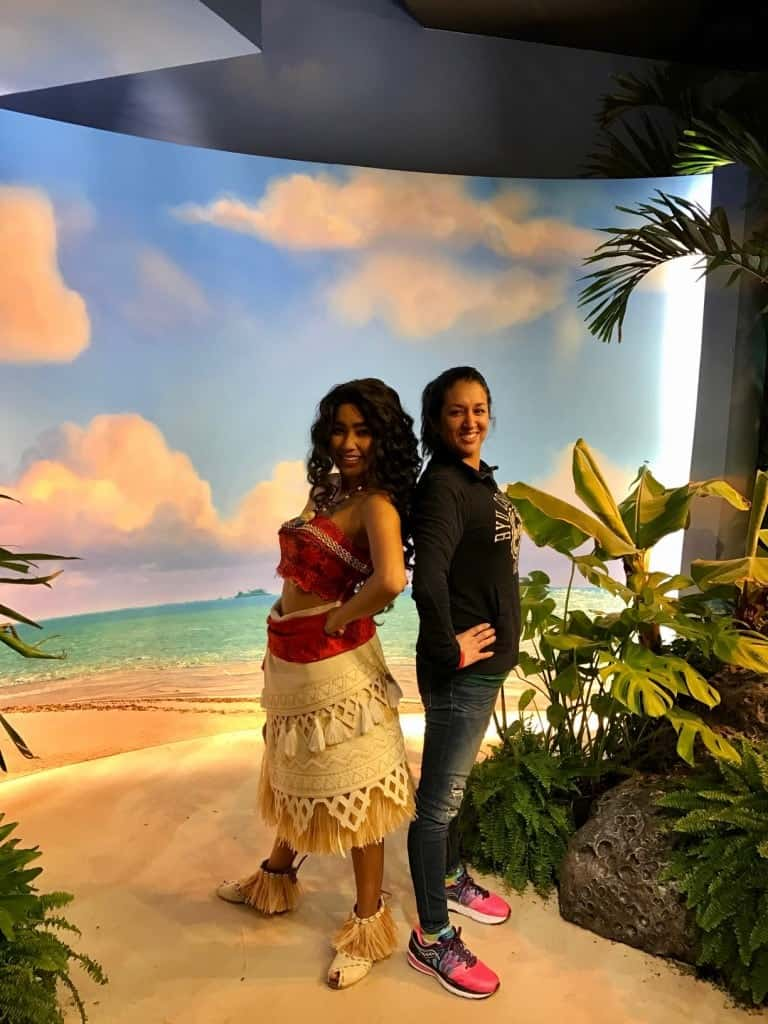 How to meet Moana at Disney