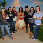 Moana Meet and Greet at Walt Disney World