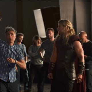 Thor Ragnarok - Chris Hemsworth in action as Thor