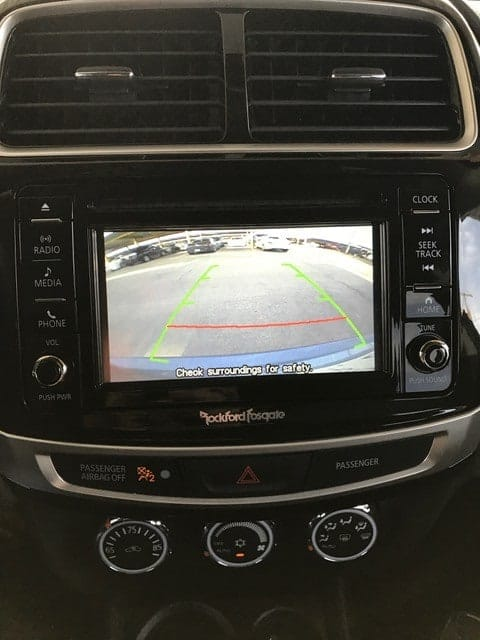 Mitsubishi Outlander Sport Rear View Camera