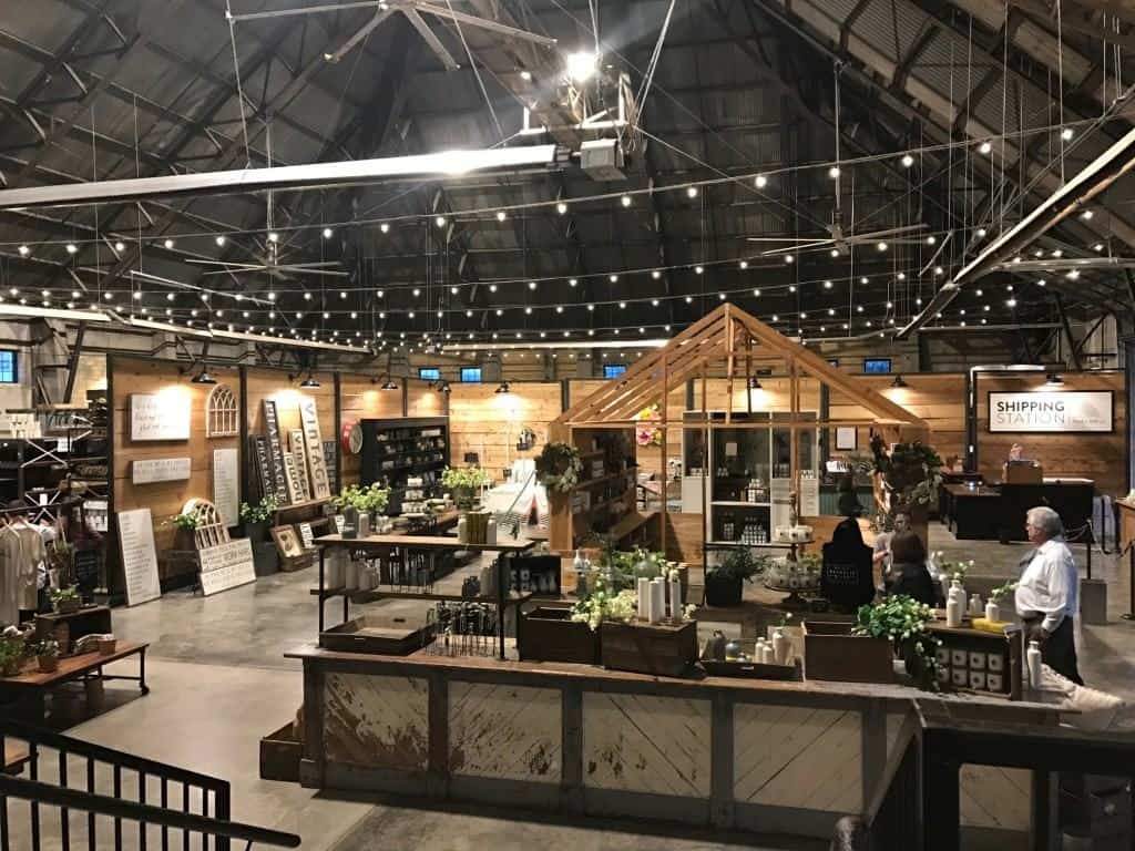 Magnolia Market Warehouse in Waco, TX
