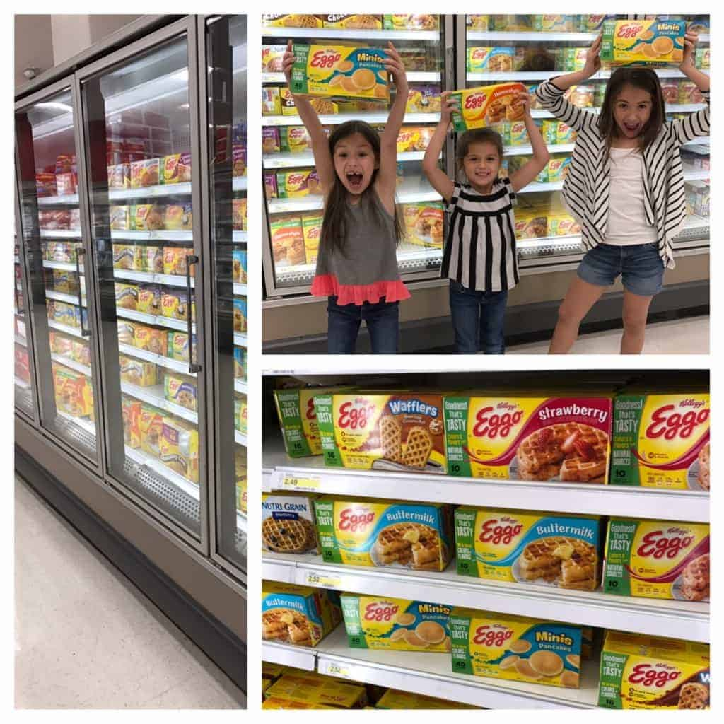 You can find all your Eggo Waffle needs in the freezer section at Target.