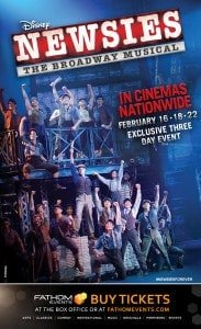 Win Disney NEWSIES Tickets with a Giveaway!