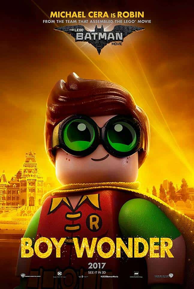 Michael Cera plays Robin in The LEGO Batman movie- a Mom's review