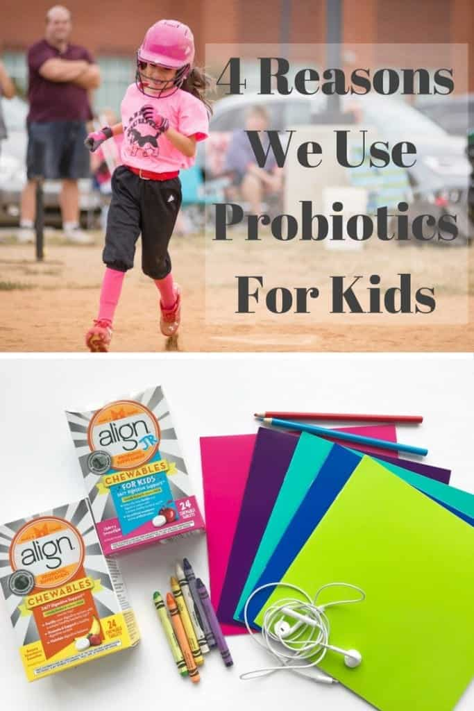 This new year, we want to keep our kids healthy. Here are 4 reasons why we use probiotics for kids in our family. Hint: The number one reason is stress!
