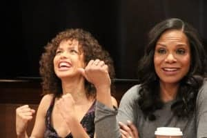 Audra McDonald and Gugu Mbatha-Raw Spark Positivity in Beauty and the Beast Interview #BeOurGuestEvent
