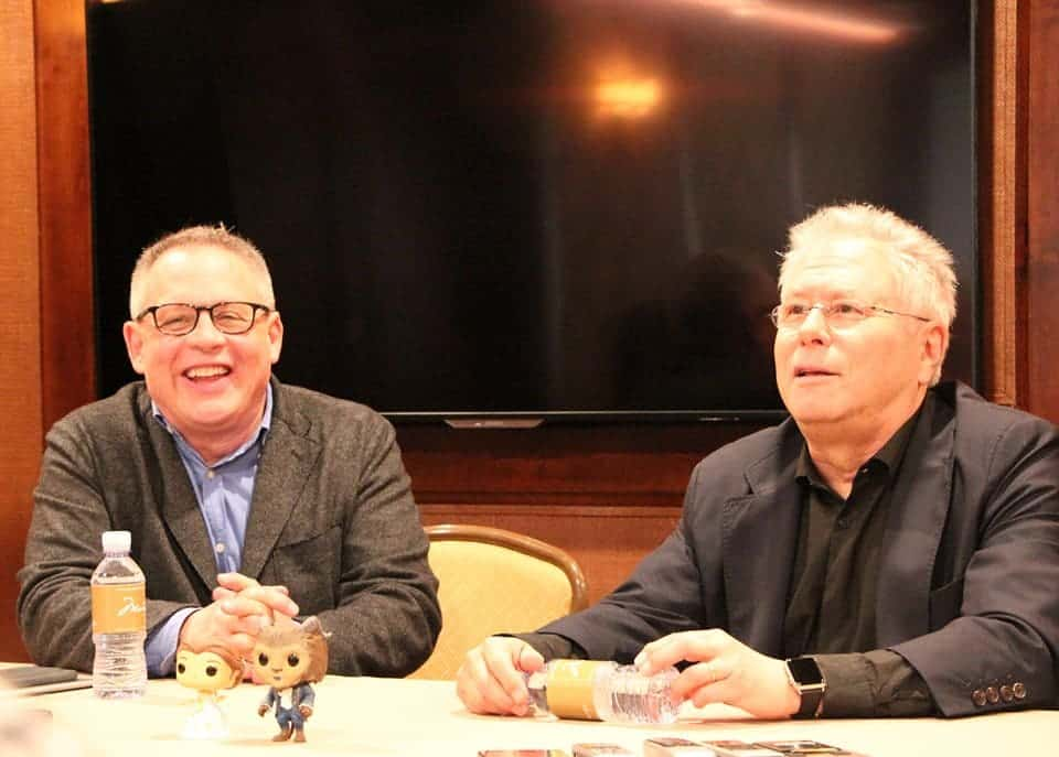 Exclusive interview with Bill Condon and Alan Menken