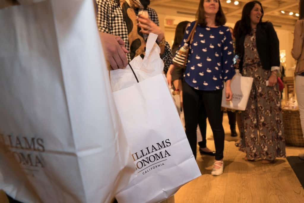 Goody Bags from Williams Sonoma