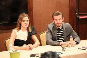 Beauty and the Beast Exclusive Interview with Emma Watson and Dan Stevens #BeOurGuestEvent