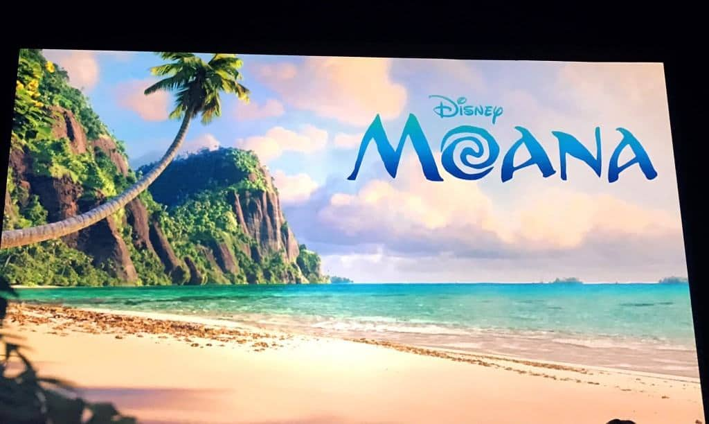 A special presentation on the making of Moana and celebrating the culture of the islands.