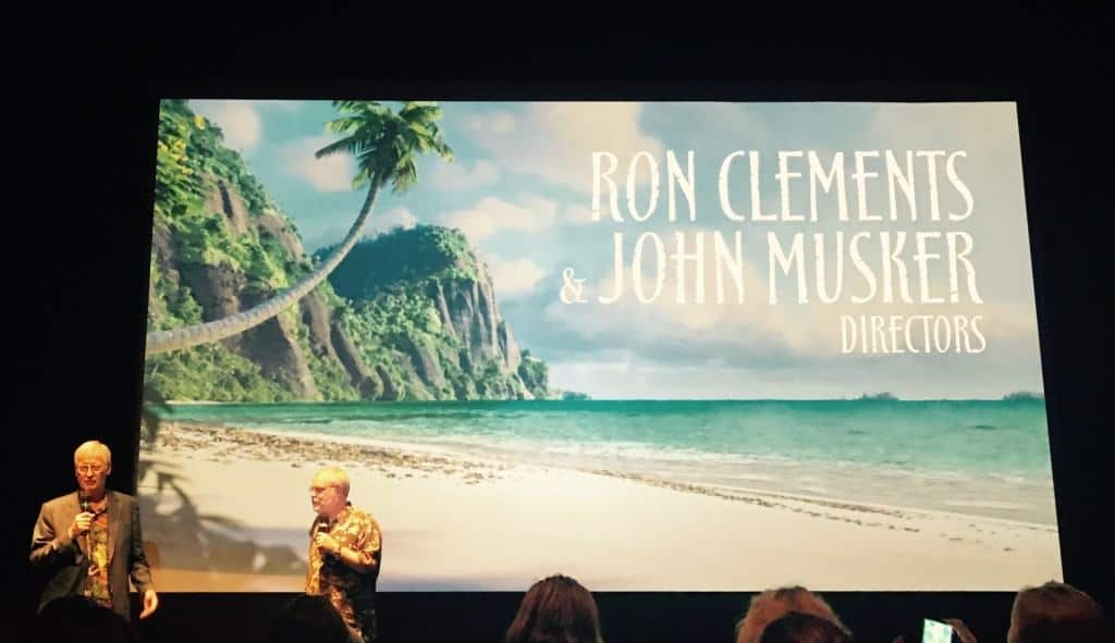 Directors Ron Clements and John Musker talk about the making of Moana, now on Blu-ray!