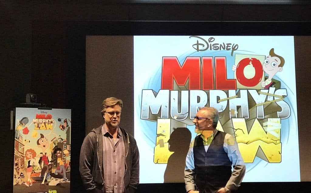 An interview with Milo Murphy's Law producers and creators!