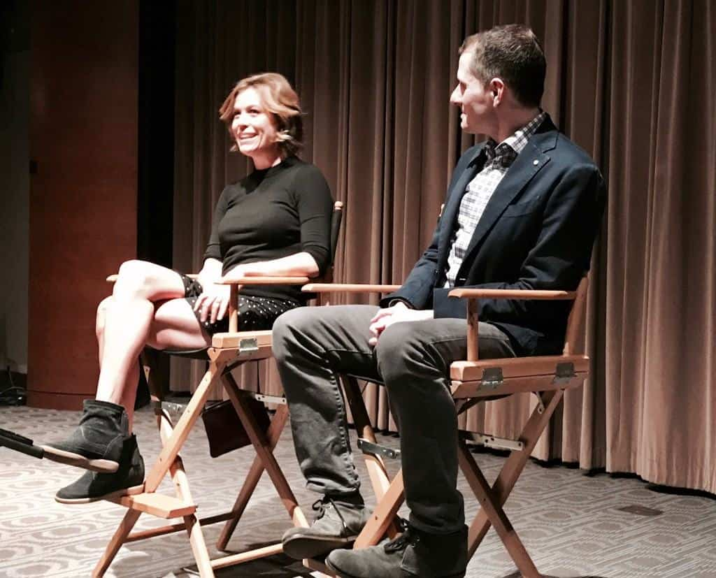 Sonya Walger and Allan Heinberg sit down and chat about ABC's The Catch.