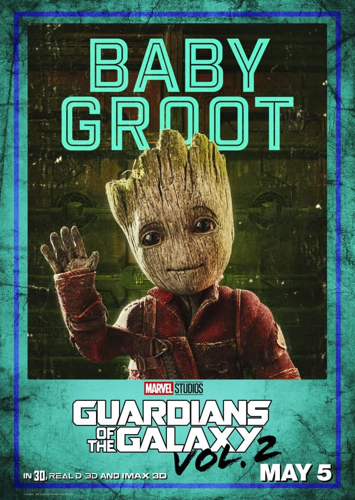 GOTG Vol2 Baby Groot Movie Poster! Baby Groot!