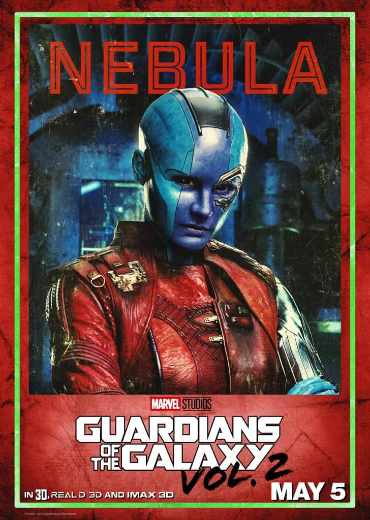 Guardians of the Galaxy Vol. 2 Nebula Poster