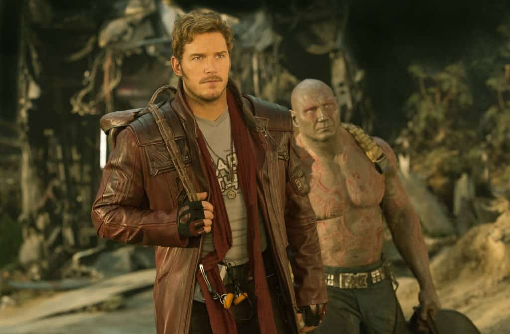 Guardians of the Galaxy Vol. 2 Star Lord and Drax