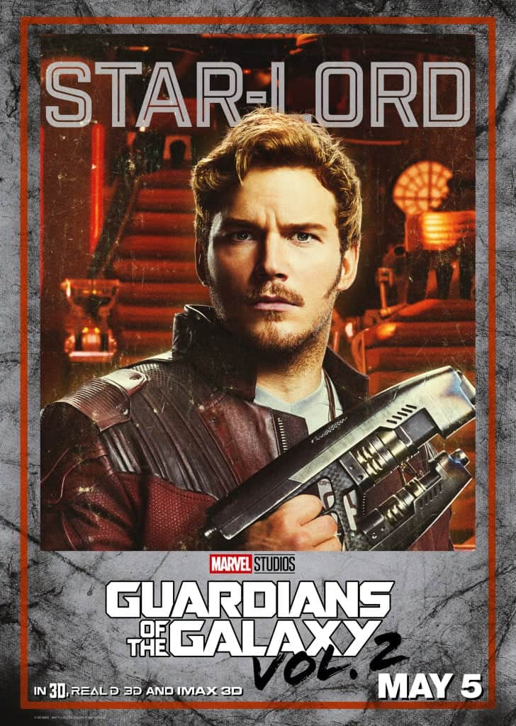 Guardians of the Galaxy Vol. 2 Star Lord poster may be my favorite.