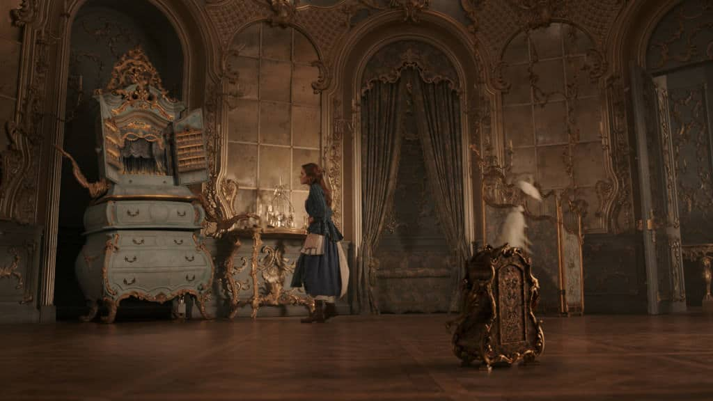 Belle in the Beast's Castle with Garderobe and Plumette