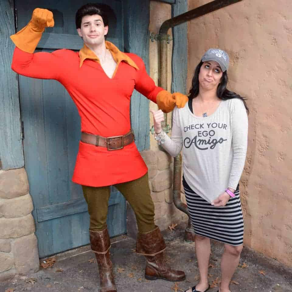 Luke Evans as Gaston was way better than this Disney Gaston!
