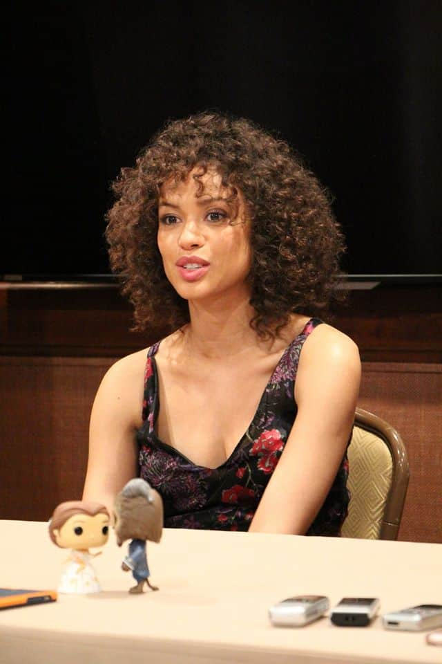 The stunning Gugu Mbatha-Raw talks to us about diversty in Beauty and the Beast.