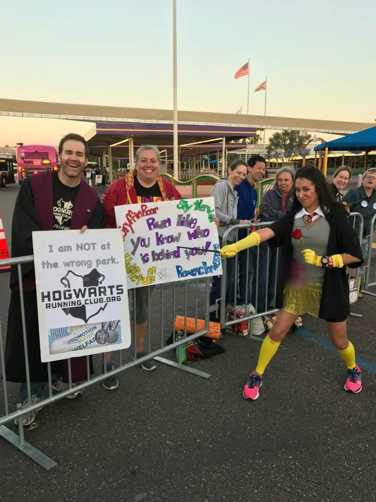 I found some fellow Harry Potter lovers on the Princess Half Marathon Course