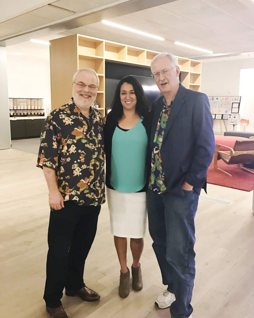 Moana directors Ron Clements and John Musker