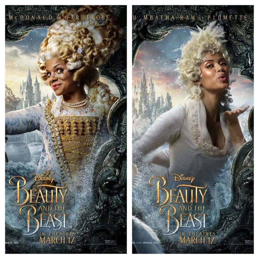 Audra McDonald and GuGu Mbatha-Raw iinterview for Beauty and the Beast