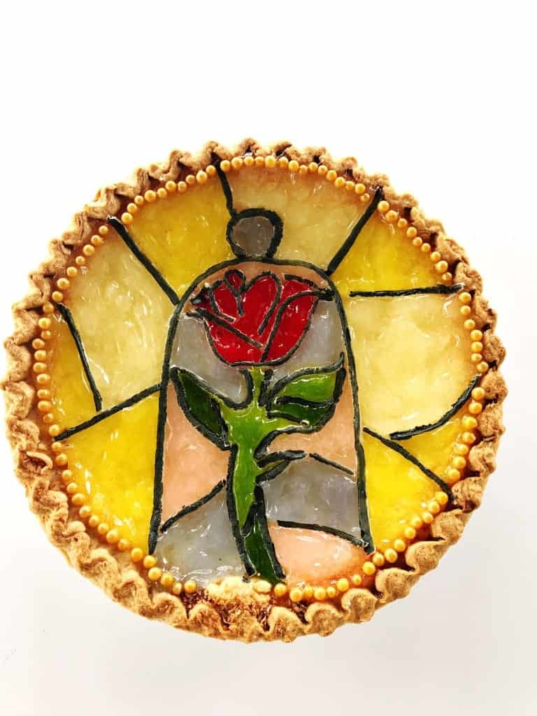 Make a Beauty and the Beast Pie for Pi Day with these simple hacks.