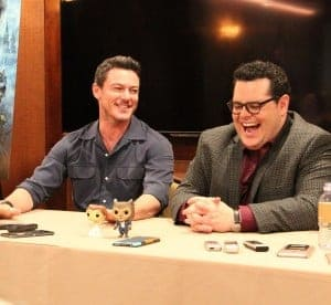 Luke Evans and Josh Gad Talk Gaston and LeFou in Beauty and the Beast Interview #BeOurGuestEvent