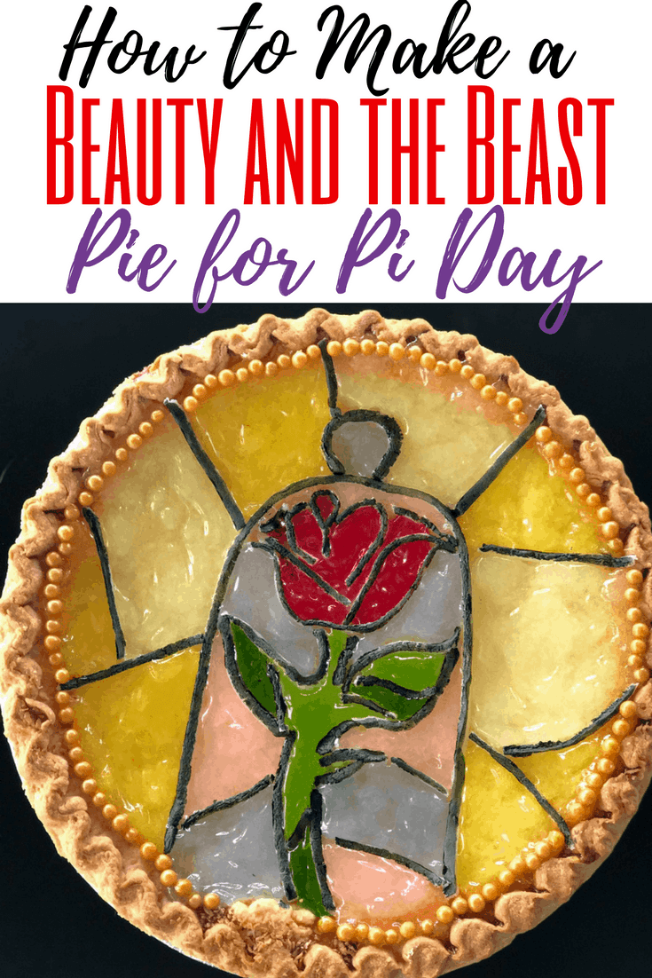 Looking for ideas to celebrate Pi Day? Here are some food and pie ideas for your Pi Day party. Make a Beauty and the Beast pie with these simple pie hacks.