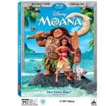 MOANA on Blu-ray Plus Bonus Features!
