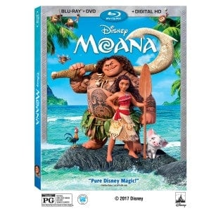 MOANA on Blu-ray Plus Bonus Features!